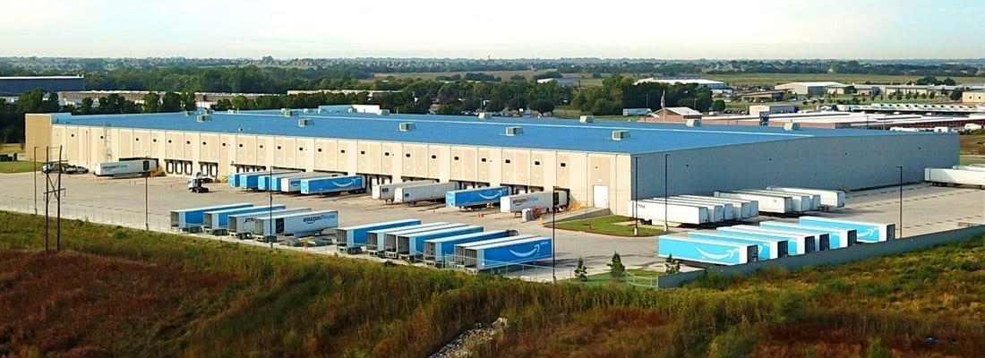 Amazon warehouse built by FSE