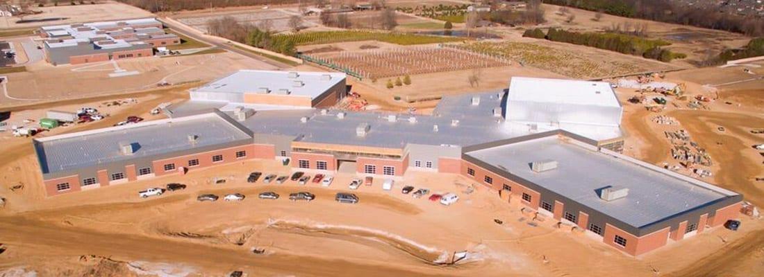 Campus facility made of PEMB