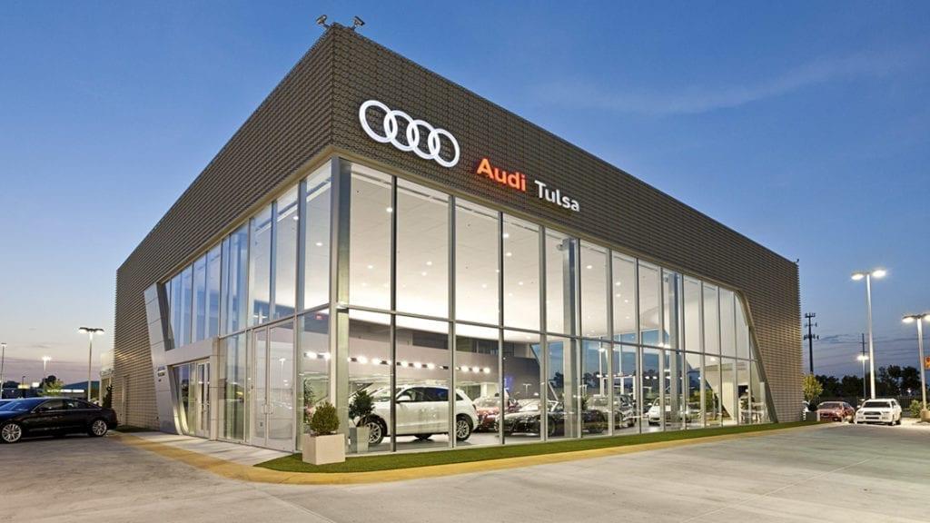 Audi of Tulsa exterior