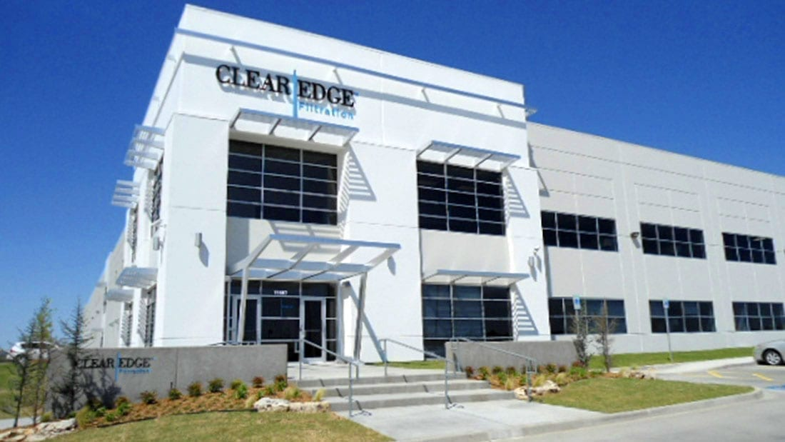 clear edge filtration exterior