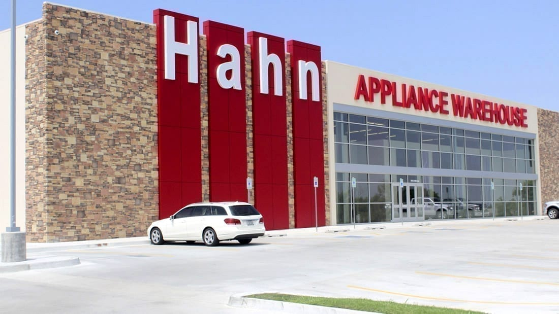 Hahn Appliance front entrance