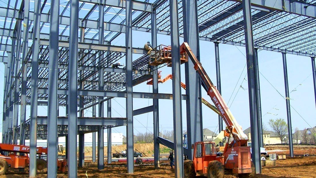Regal Plaza Structural Steel Erection